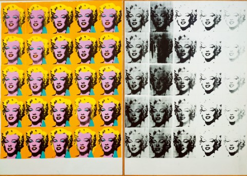 Marilyn Diptych, Andy Warhol. Courtesy of Tate