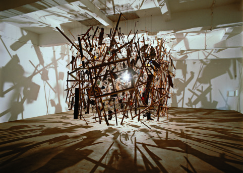 Cornelia Parker Cold Dark Matter: An Exploded View 1991 © Cornelia Parker