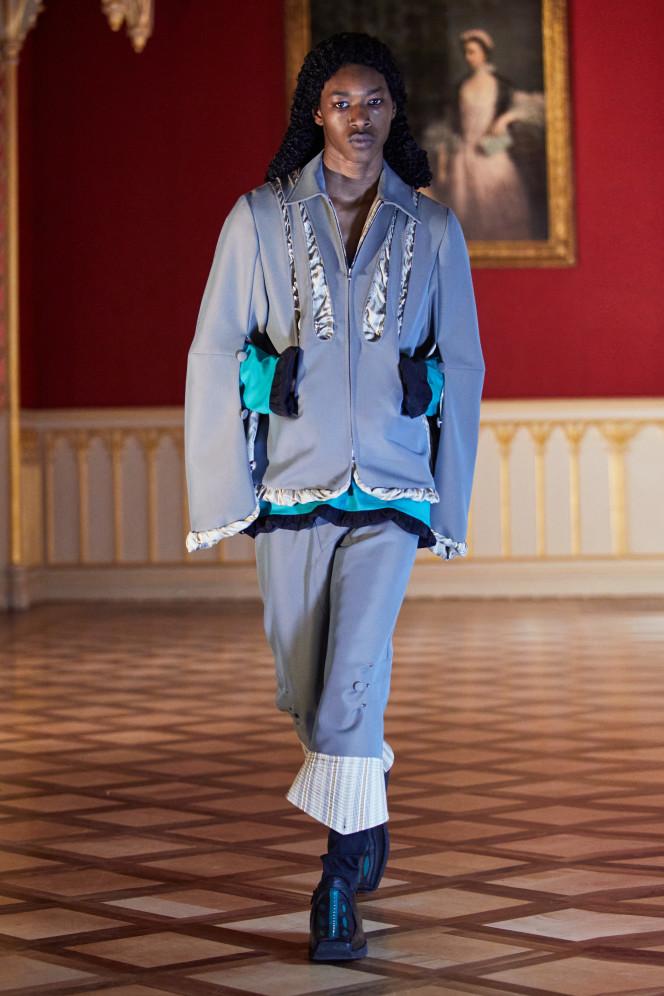 Kiko Kostadinov SS21 Menswear Look 1