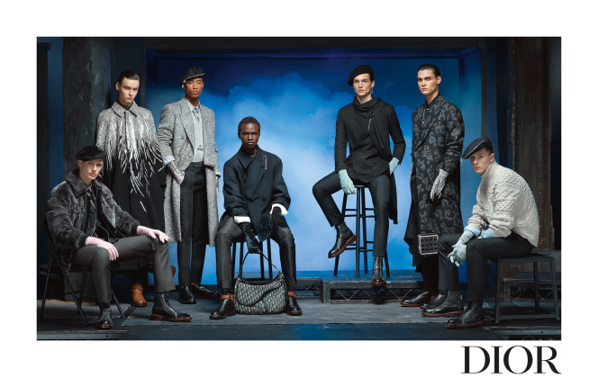 DIOR MEN'S WINTER 2020 2021 ADVERTISING CAMPAIGN BY STEVEN MEISEL_1