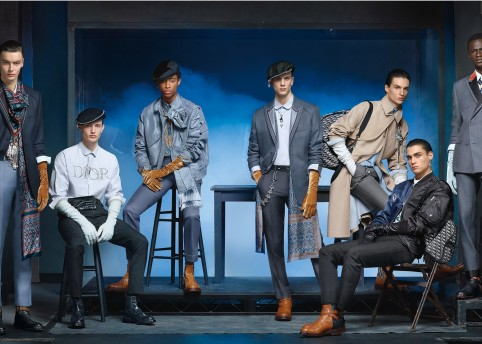 DIOR MEN'S WINTER 2020 2021 ADVERTISING CAMPAIGN BY STEVEN MEISEL_3