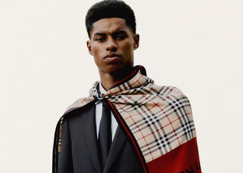 Marcus Rashford c Courtesy of Burberry _ Rafael Pavarotti