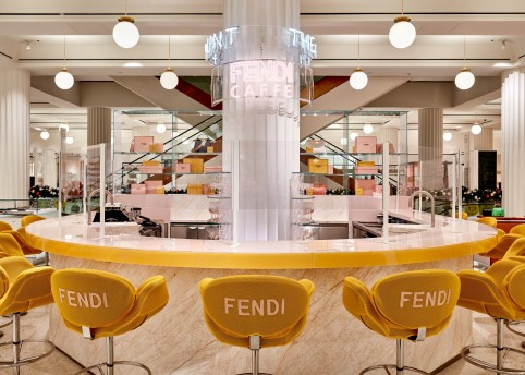FENDI CAFFE SELFRIDGES LONDON_09