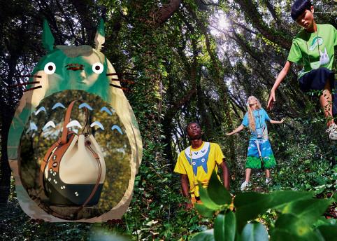 LOEWE x My Neighbour Totoro by Gray Sorrenti 6
