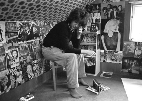 Dave Twist in teenage bedroom, 1978 by Brendan Jackson