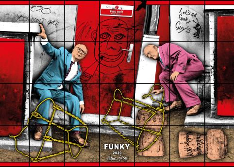 Gilbert & George FUNKY 2020 © Gilbert & George Courtesy White Cube